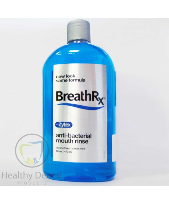 BreathRx® Anti-Bacterial Mouth Rinse - 16 oz