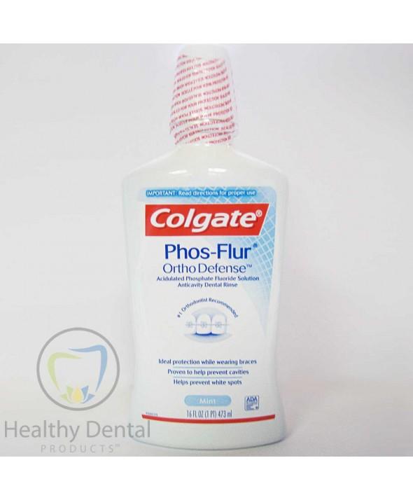 Colgate® Phos-Flur® Rinse - Mint Flavor - 16 oz